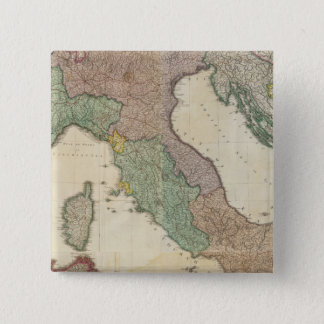 Composite Italy 2 15 Cm Square Badge