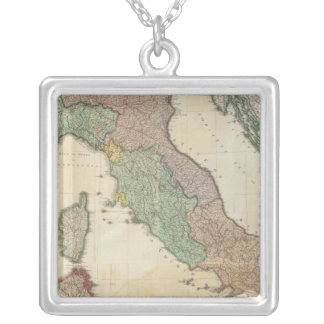 Composite Italy 2 Silver Plated Necklace
