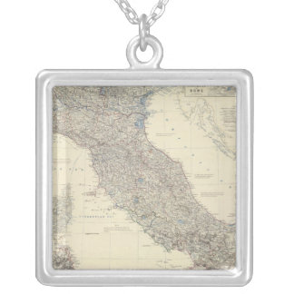 Composite Italy 3 Silver Plated Necklace