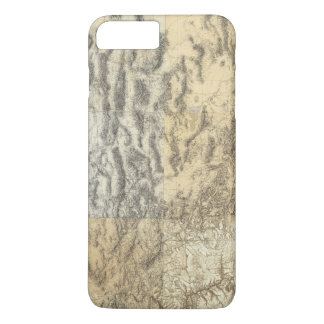 Composite Map of Arizona, Nevada, and Utah iPhone 8 Plus/7 Plus Case