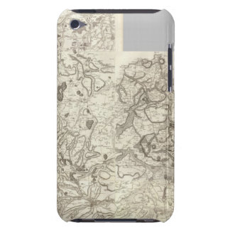 Composite Map of France 10 Barely There iPod Cover