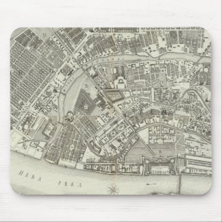 Composite Map of Saint Petersburg Mouse Mat