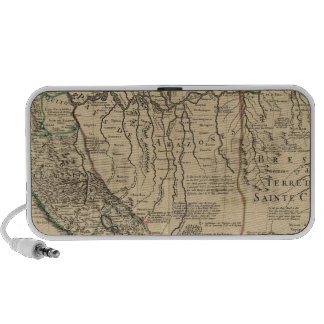 Composite map of South America Travel Speaker