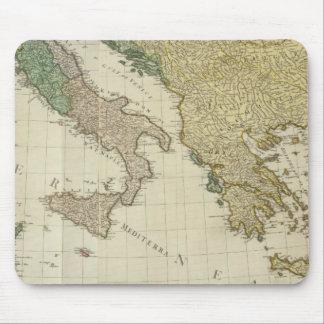 Composite Mediterranean Atlas Map Mouse Mat