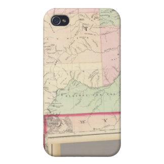 Composite Montana, Idaho iPhone 4/4S Cases