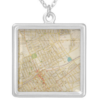 Composite Mt Vernon Silver Plated Necklace
