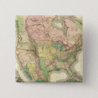 Composite North America 15 Cm Square Badge
