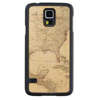 Composite North America 2 Carved Maple Galaxy S5 Case