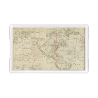 Composite North & South America Acrylic Tray