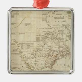 Composite North & South America Christmas Ornament