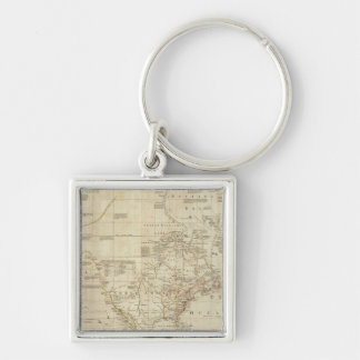 Composite North & South America Key Ring