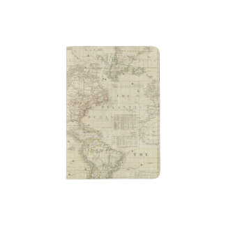 Composite North & South America Passport Holder