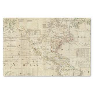 Composite North & South America Tissue Paper