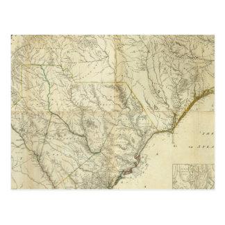 Composite North & South Carolina Postcard