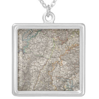 Composite of Southwestern Germany Silver Plated Necklace