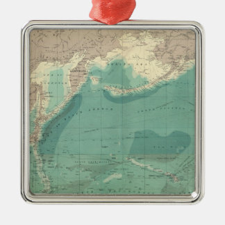 Composite Pacific Ocean Christmas Ornament