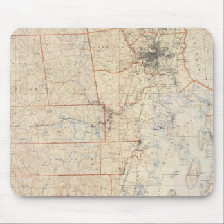 Composite Rhode Island Map Mouse Mat