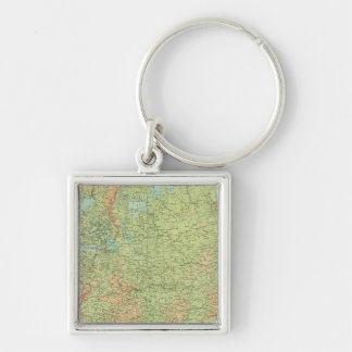 Composite Russia, Finland Key Ring