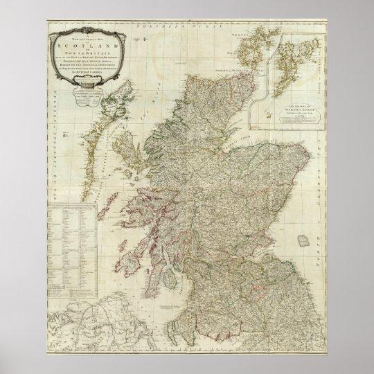 Composite Scotland or North Britain Poster
