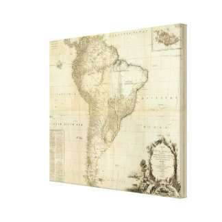 Composite South America 2 Canvas Print