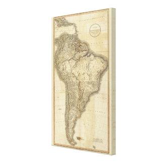 Composite South America 3 Canvas Print
