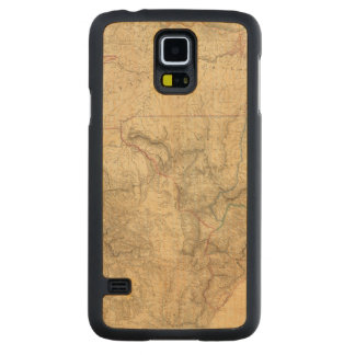 Composite South America 4 Carved Maple Galaxy S5 Case