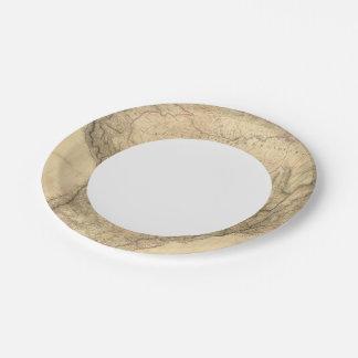 Composite South America 4 Paper Plate
