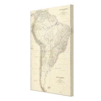Composite South America Canvas Print