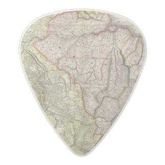 Composite South America, West Indies Acetal Guitar Pick
