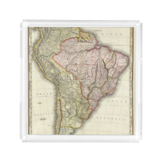 Composite South America, West Indies Acrylic Tray
