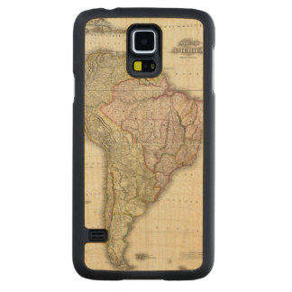 Composite South America, West Indies Maple Galaxy S5 Slim Case