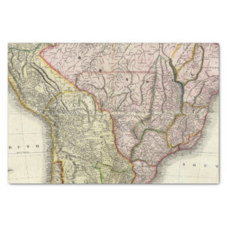 Composite South America, West Indies Tissue Paper