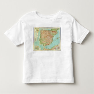 Composite Spain, Portugal Toddler T-Shirt