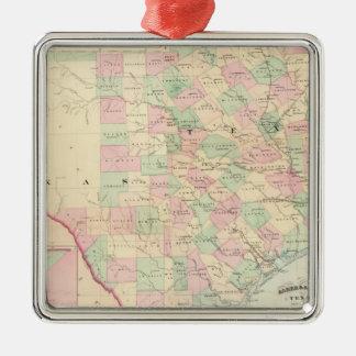 Composite Texas Christmas Ornament