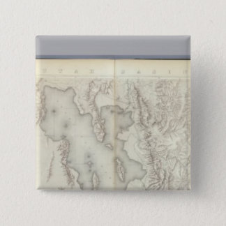 Composite Topographical maps IV 15 Cm Square Badge