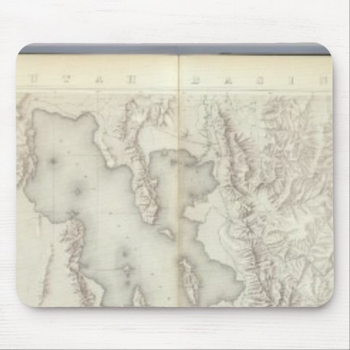 Composite Topographical maps IV Mousepad