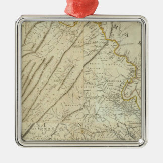 Composite Virginia Christmas Ornament