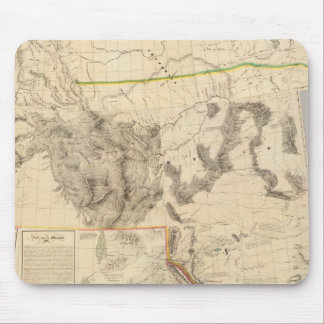 Composite Western United States Mouse Mat