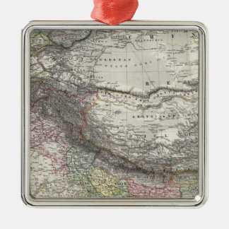 CompositeMap of India, Asia Christmas Ornament