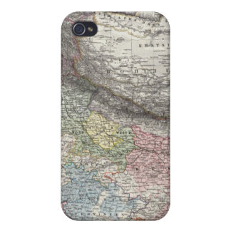 CompositeMap of India, Asia iPhone 4 Covers