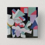 Composition, 1927 15 cm square badge