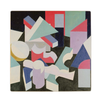 Composition, 1927 wood coaster