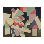 Composition, 1927 wood wall decor