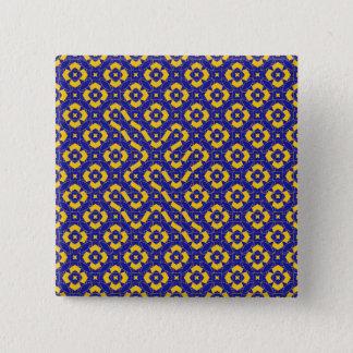 Composition 53 15 cm square badge