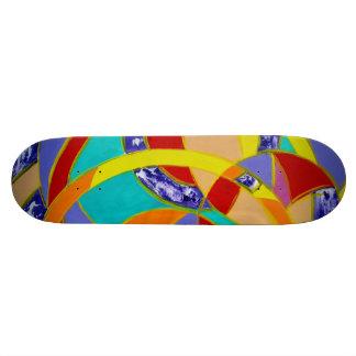 Composition #5 by Michael Moffa 21.3 Cm Mini Skateboard Deck