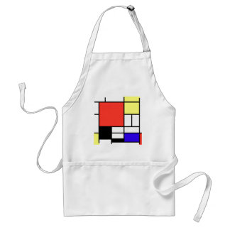 Composition and Mondriaan Standard Apron