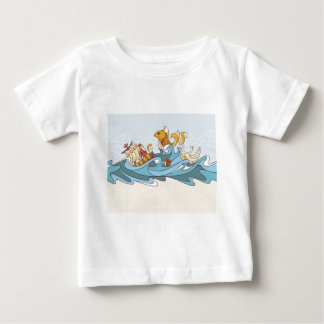 composition background baby T-Shirt