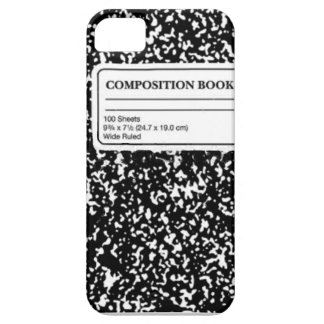 Composition Book Barely There iPhone 5 Case