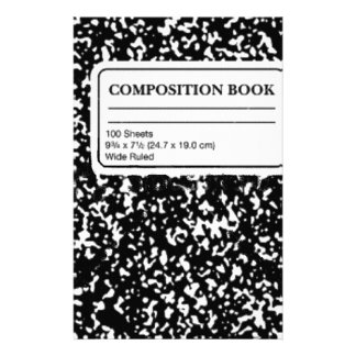 Composition Book Customised Stationery