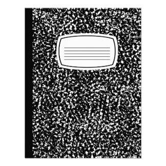 composition book invitations